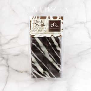 Dark Chocolate Drizzle Mini Bar