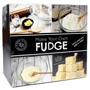 Make Your Own Microwave Fudge Kit
