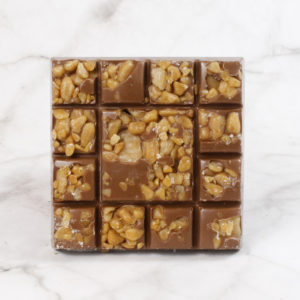 salted caramel chocolate square chunky chocolate