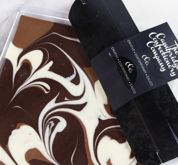 Triple Chocolate Swirl Tile