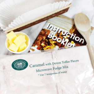 Caramel Devon Toffee Microwave fudge mix
