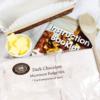dark chocolate microwave fudge mix