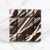 dark chocolate drizzle