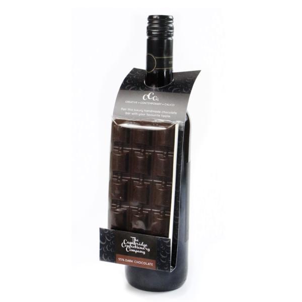 Dark Chocolate Hanger Wine Bottle Gift