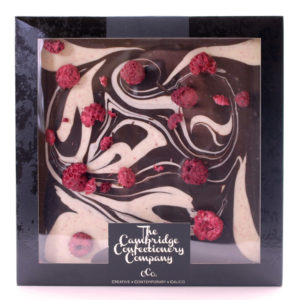 Dark Chocolate Raspberry Swirl Tile