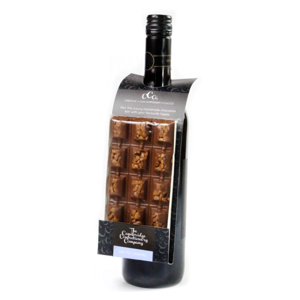salted caramel chocolate wine gift