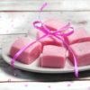 strawberry microwave fudge calico