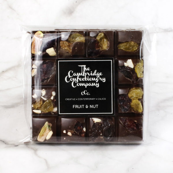 dark chocolate fruit & nut square