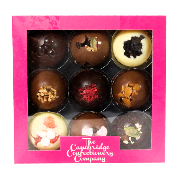9 solid chocolate domes the cambridge confectionery company
